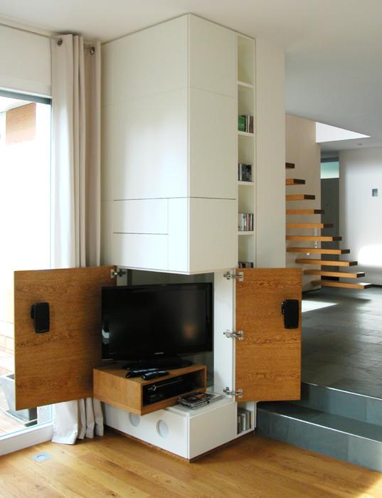 raumbildende einbauten stahltr ger sinnvoll verkleiden. Black Bedroom Furniture Sets. Home Design Ideas